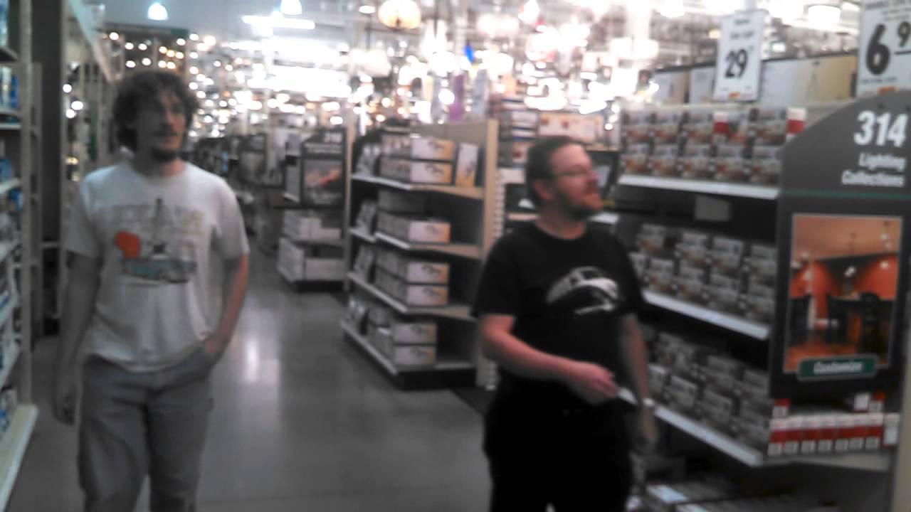 Mark andy i visit menards ceiling fan department test the hunter mark andy i visit menards ceiling fan department test the hunter hvls fan youtube aloadofball Images