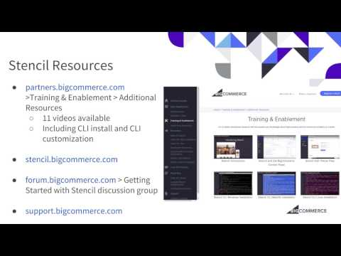BigCommerce Partner Webinar   Stencil Edit Theme Files