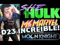 INCREIBLE MARVEL! SHE HULK . MS MARVEL , MOON KNIGHT , US AGENT...VIDEO REACCION EPICA! FYD COMICS