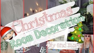 Room Decoration ♡ Winter/Christmas Edition ♡ Thumbnail