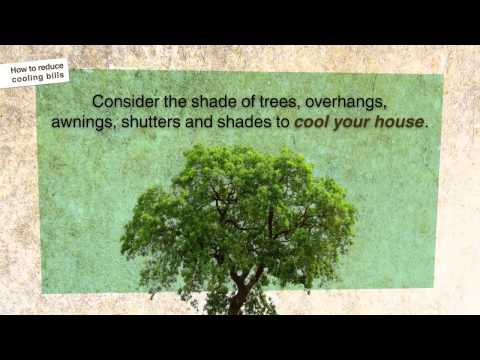 Reduce your cooling bills
