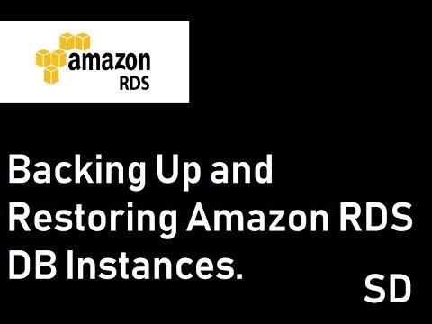 Restoring a Backup into an Amazon RDS MySQL DB Instanc
