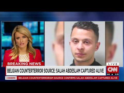 Breaking News: raid underway in Brussels, reports terror suspect shot, captured alive