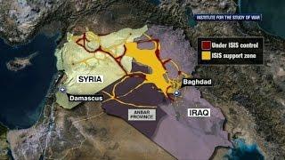 U.S. begins airstrikes in Syria