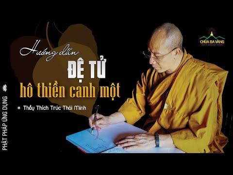 Thầy Trụ Trì Chùa Ba Vàng - ĐĐ Thích Trúc Thái Minh Dạy Chúng Đệ Tử Hô Thiền Canh Một