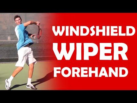 Windshield Wiper Forehand | MODERN FOREHAND TECHNIQUE