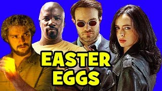 Marvel's DEFENDERS EASTER EGGS - Daredevil Season 3, Game of Thrones, Punisher Season 1