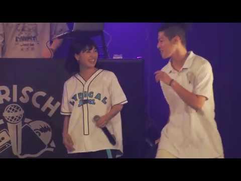 lyrical school「シャーフ?ヘ?ンシル feat. SUSHIBOYS」live at 新木場Studio Coast
