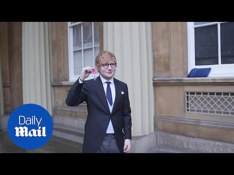 Ed Sheeran says he would perform at Prince Harry's wedding - Daily Mail