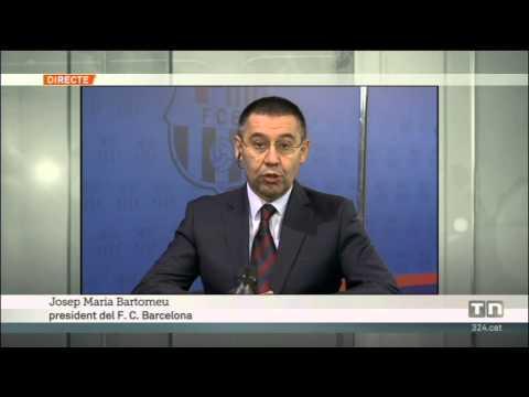 TV3 - Telenotícies - Entrevista a Josep Maria Bartomeu, nou president del Barça
