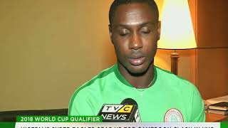 Nigeria's Super Eagles gear up for Cameroon clash in Uyo