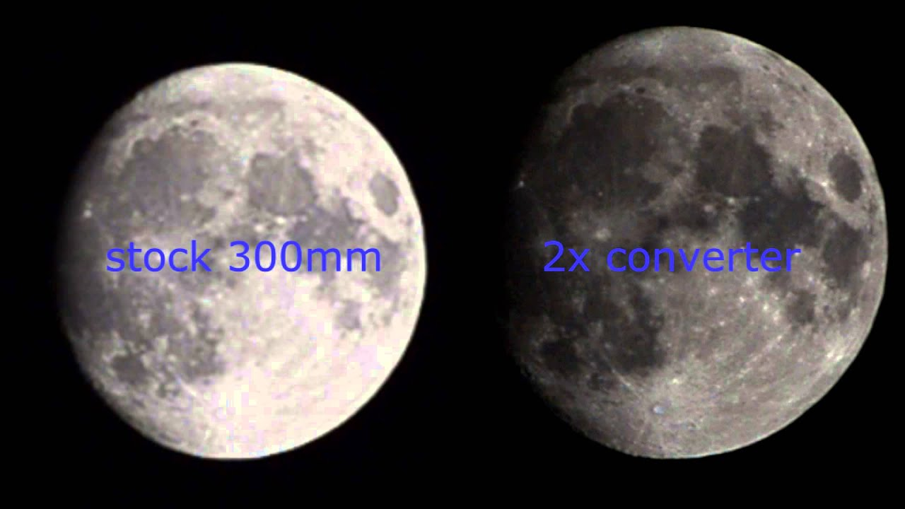 2x 2x 2x Teleconverter For Nikon 70 300 Af Youtube