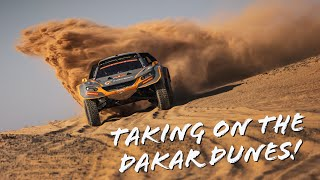 Taking on the Dakar stages: the GCK e-Blast 1 in action! ⚡