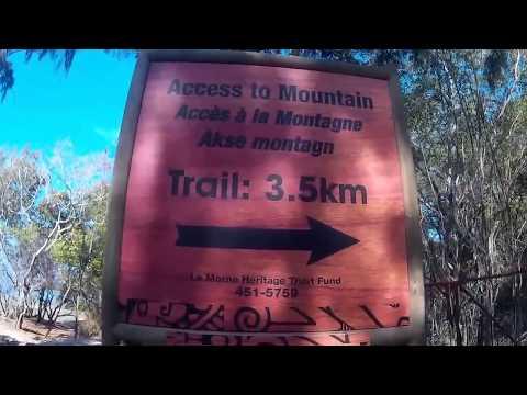 "Climbing ""Le Morne"" - Ile Maurice"