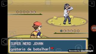 Pokemon fire red #6. A caverna