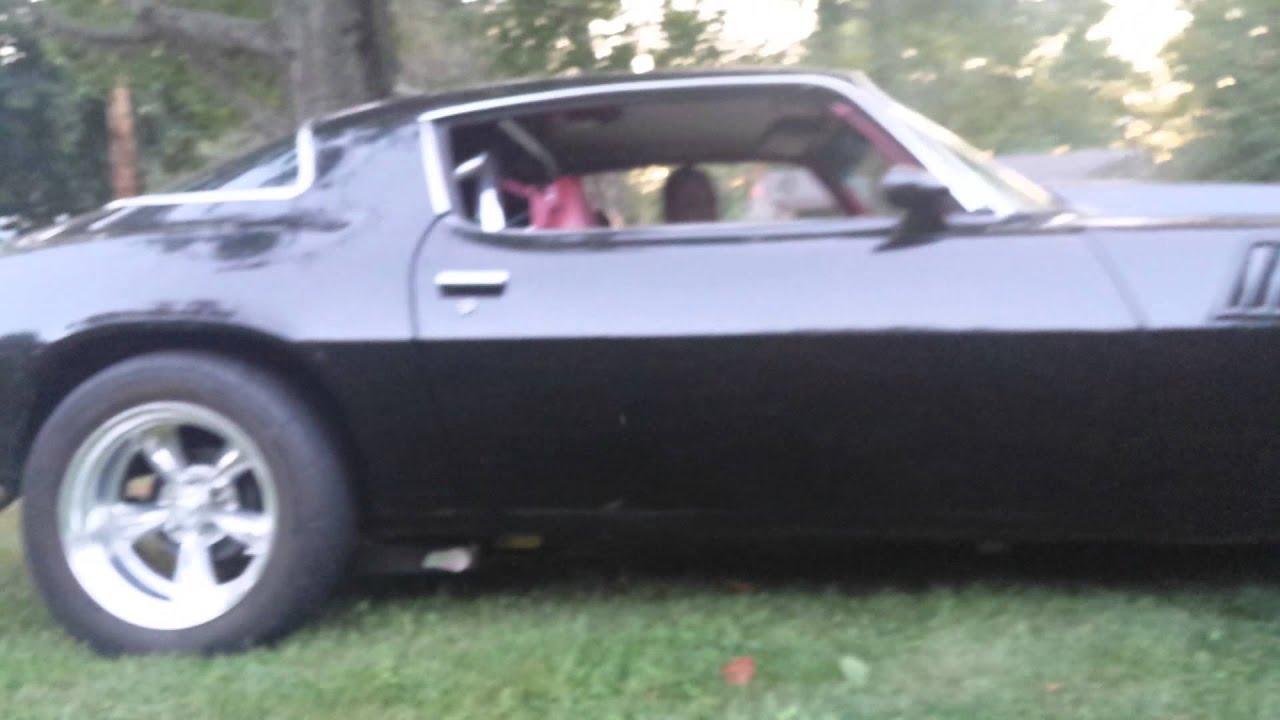 Black 79 Z28 Camaro 500 Hp YouTube
