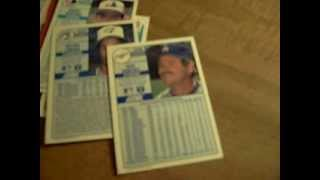 90's baseball mustache baseball cards