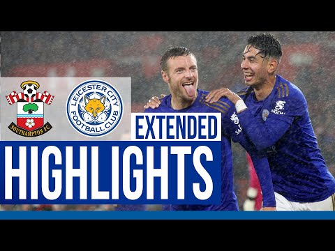 Southampton 0 Leicester City 9 | Extended Highlights