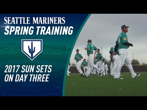Mariners Spring Training Day 3 recap