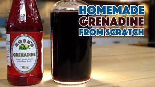 Baixar How To Make REAL GRENADINE Syrup For Cocktails