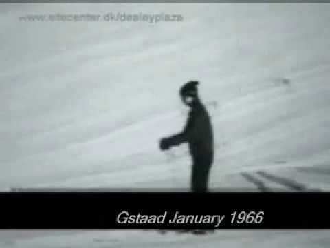 Jacqueline Kennedy, John Kenneth Galbraith & Winterholiday in Gstaad Switzerland