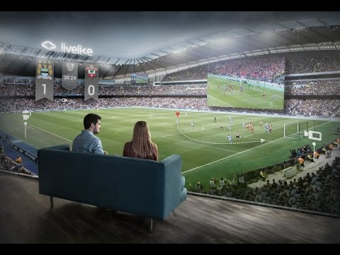 Vr stadium at home experience live sports at your home for Vr for home