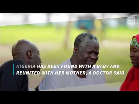 Nigerian Girl Kidnapped 2 years ago Found Alive With a Newborn Baby
