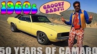 50 Years Of Camaro - Time Travelling To The 1960s! NEW VIDEO SERIES Ep1/5!