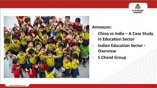 S Chand And Company Limited Presentation