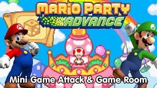 Mario Party Advance - Challenge Land: Mini-Game Attack and Game Room