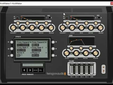 Kick Maker Teragon Audio