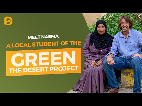 Meet Naema, A Local Student Of The Green The Desert Project