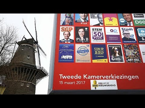 Dutch go the polls in closely watched election