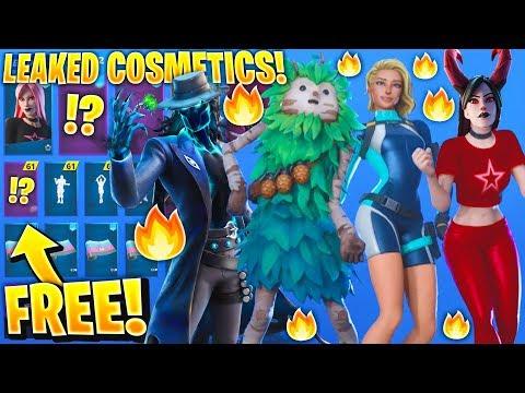 *NEW* All Leaked Fortnite Skins & Emotes..! *FREE REWARDS* (Deadeye, Hemlock, Haze, Surf Rider..)