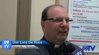 SAN SEVERO: CONFERENZA - DIBATTITO  SU TESTAMENTO BIOLOGICO E EUTANASIA