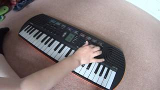 Casio SA-76/77/78 Full Review + Demonstration