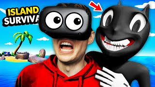 NEW Hiding From CARTOON CAT On REMOTE ISLAND (Funny Island Time VR Gameplay)