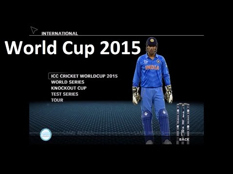 How to Download and Install ICC World Cup 2015 Patch for Cricket 07