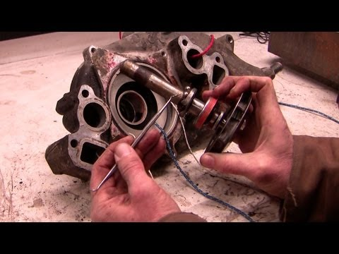 Pump Parts Diagram 2000 Cadillac Deville Wiring Inside A Chevy Water -- How It Works - Youtube