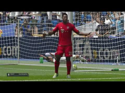 FIFA 16 real Madrid v bayern Munich second half