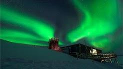 Abisko Sky Station Aurora Timelapse, in Lapponia, Arctic Sweden.
