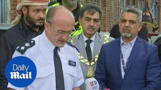 Police: 'Mosque collision treated as an Islamophobia hate crime'