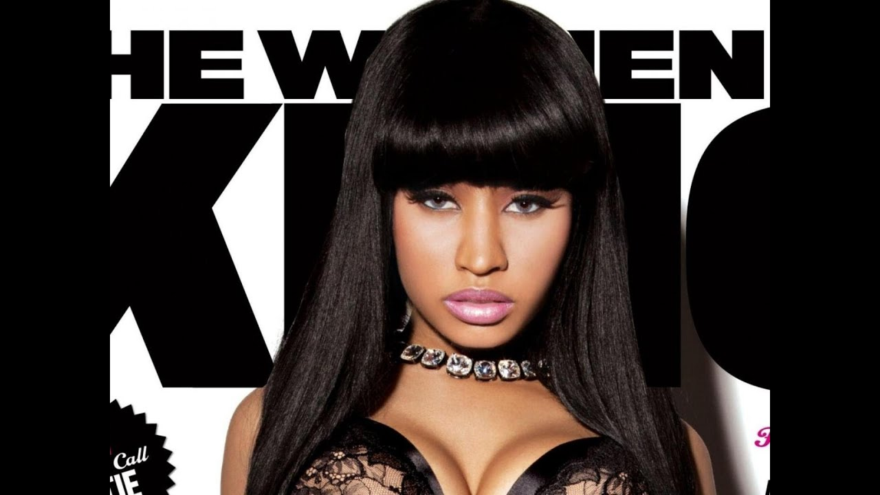 Nicki Minaj Inspired Wig With Bangs