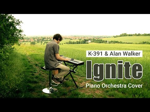 K-391 & Alan Walker - Ignite Piano Orchestra Cover - Thank you for 30000 Subs