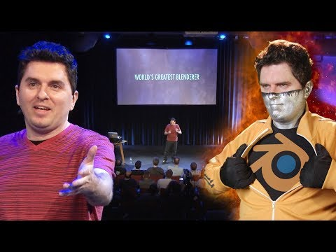 Captain Disillusion: World's Greatest Blenderer - Live at th