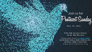 PENTECOST, WHAT A DAY!   PASTOR HENRY BOLDEN II.  MAY 23
