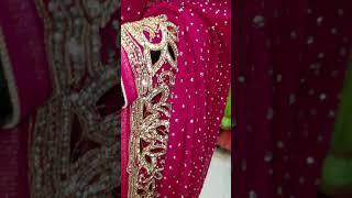 Designer stone work sarees
