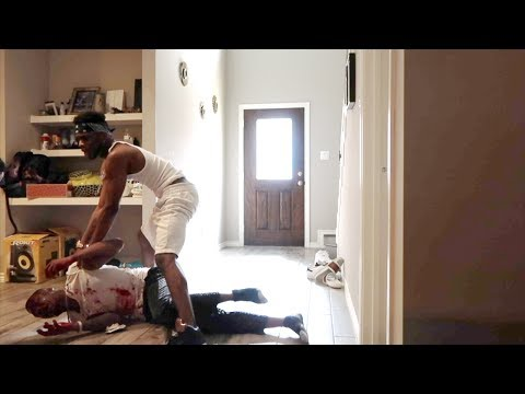 """I GOT BEAT UP"" PRANK ON TREY AND QUEEN!!!"