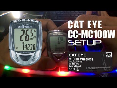 CATEYE CCMC100W   SETUP