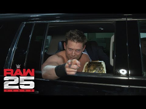 The Miz says his title win will be talked about for 25 years: Raw 25 Fallout, Jan. 22, 2018